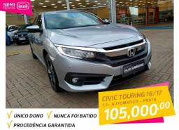 HONDA CIVIC 2016/2017 1.5 16V TURBO GASOLINA TOURING 4P CVT - 2017