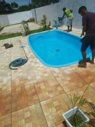 Casa com piscina no taruma