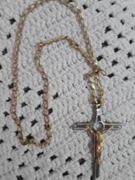 Vendo Correntão com Crucifixo. PEÇA EXCLUSIVA