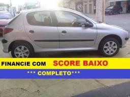 Peugeot 206 Financiamento com Score Baixo entrada 4000