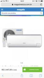 Vendo Ar Condicionado Samsung 18.000 btus