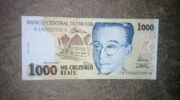 Cedulas Antigas, dinheiro antigo