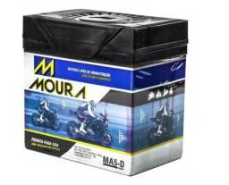 Bateria Moura Moto 5 Amperes R$135,00 - Entrega e Instalação Grátis na Grande João Pessoa