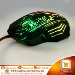 Mouse Gamer 7 botões Rgb 5500 DPI