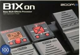 Pedaleira para Bass zoom B1xon top de linha