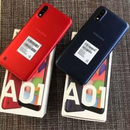 2 celular Samsung A01 novos