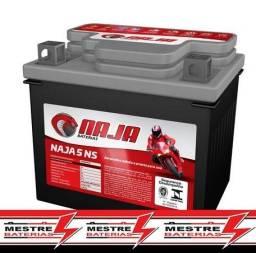 Bateria Naja 5 amperes linha heliar 5ah 6m de garantia cg125 fan cg160 xre bros