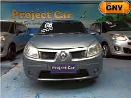 Renault Sandero Privilége 1.6 Completo com GNV 5ª Geração - 2008