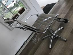Linda cadeira de Cabeleleiro Van de Velde
