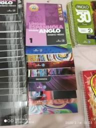 Livros anglo unigran - 1° série