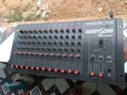 Vendo essa mesa de som wattsom 12 canais super barato