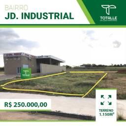 Terreno para Venda Penápolis / SP Parque Industrial (1.150 m²)