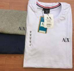 Camisas FIO 40.1 Penteado ( Detalhes 100% emborrachados )