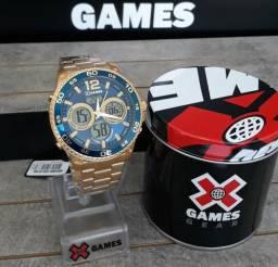 Relogio X Games ORIGINAL Dourado Novo comprar usado  São José