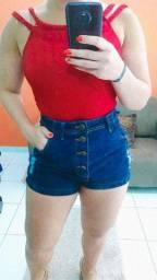 Opções de looks : Short jeans + bary + short social