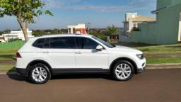 VW Tiguan 18/18, 7 lugares, na garantia até julho de 2021