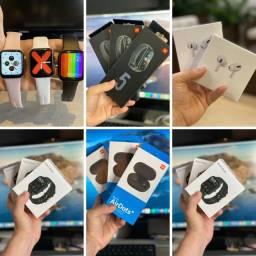 Título do anúncio: ATACADO Smartwatch IWO, Mi band 4 e 5, Airdots.