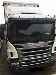 Scania p310 ano 2013 baú