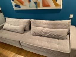 Vendo sofá de 6 lugares 3 metros
