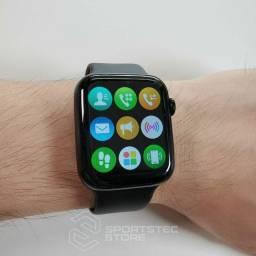 Smartwatch Iwo w26 faz é recebê ligações novo na caixa