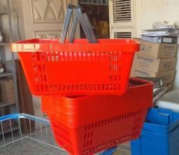 Cesta Plástica Cestinha para supermercado
