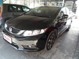 Honda civic lxr 2.0 2016 preto