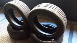 02 (dois) pneus Michelin 205/55r16 91v R$ 200,00