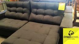 Sofá retrátil e reclinável novo 2,00 de largura de 1999,99 por 1599,99