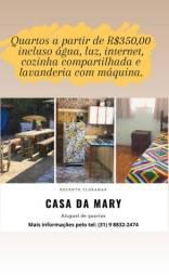 Aluguel de quarto Casa da Mary bairro Floramar (só para mulheres)