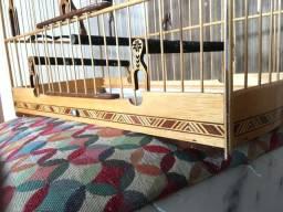 Título do anúncio: Vendo gaiola de passeio trinca ferro