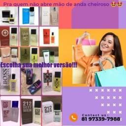 Título do anúncio: Celular perfume importado 50ml