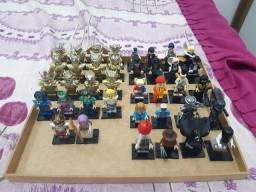 Lego Cavaleiros do zodíaco e Lego terror por R$15 cada personagem! Novo / lacrado!