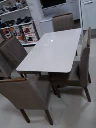 Mesa de Jantar Dasala 4 Cadeiras - Semanaço de Ofertas