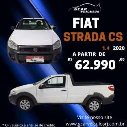 Título do anúncio: fiat strada 1.4 2019 cs completo entrada+ 48x 899,00