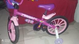 Título do anúncio: Bike infantil, usada apenas um mês