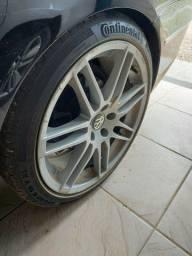 Título do anúncio: Percelado em 12 x Réplicas Rodas 19 pneus continental contact Sport 5