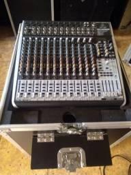 Case gaveteiro para mesa de som