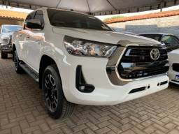 Título do anúncio: Toyota Hilux SRV 4x2 2.7 Flex Automático Branca 0KM 2021/2021
