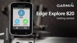 Título do anúncio: Garmin edge 820 new