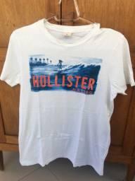 Camisa de Malha Hollister