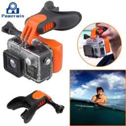 Título do anúncio: Suporte Bocal + Boia Surf Kitesurf GoPro Câmeras de Ação