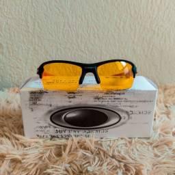 Título do anúncio: Óculos okwy noturno para treinos a noite e de sol também entrega grátis
