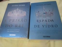 Livro Espada de Vidro e A Prisão do Rei