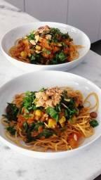 Aprenda a fazer comidas veganas
