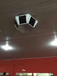 Climatizador para 360 metros quadrados,para teto ou parede