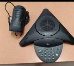 Telefone Polycom Áudio Conferência