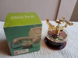Título do anúncio: Vintage Descanso Musical Antigo Para Telefone