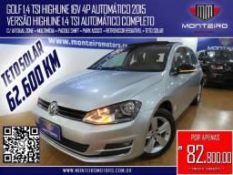 Título do anúncio: Volkswagen Golf 1.4 TSI Highline 16v 4p Automático Completo C/ Teto Solar Só 62.600 Km