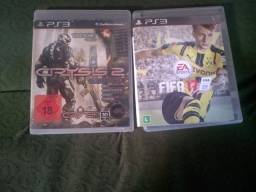 Dois jogos de PS3 original