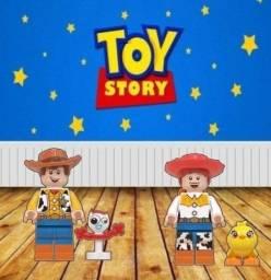 Título do anúncio: Disney - Blocos Montaveis - Stitch , Woody, Angel, Jessie